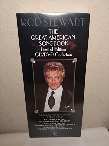Rod Stewart The Great American Songbook Limited Edition Cd/DVD ()