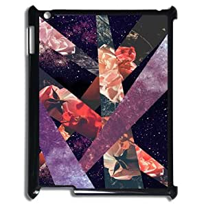 Top Quality DIY Hard Back Cover Case for Ipad 2,3,4 - Roses in the galaxy Phone Case JZQ-913564