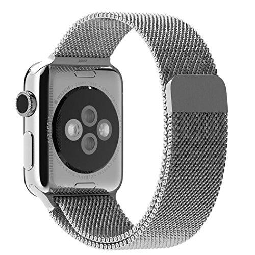 <span style=''>[해외]아이폰 시계 스트랩 38MM, 드미 탄 밀라노 마그네틱 루프 스테인레스 스틸 시계 ..</span>