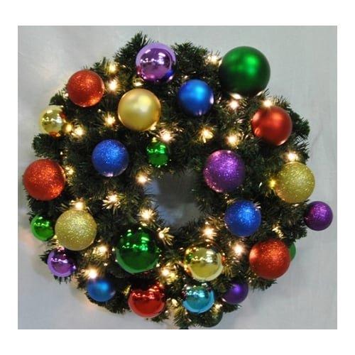 Christmas at Winterland WL-GWSQ-06-ROYAL-LWW 6 Foot Pre-Lit Warm White Sequoia W, Warm White -