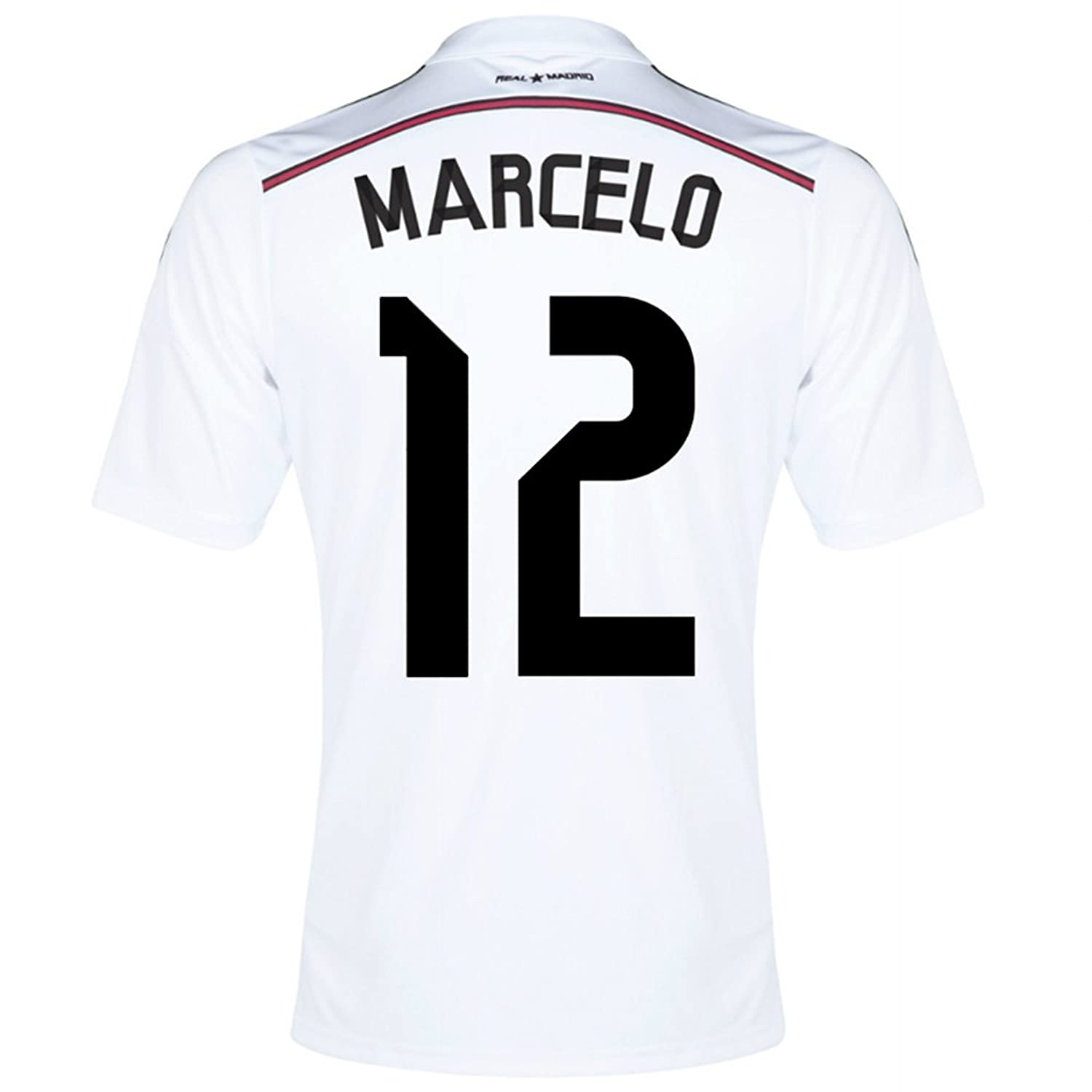 : Adidas MARCELO #12 Real Madrid Home Jersey 2014