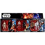"Star Wars The Force Awakens Rey vs Kylo Ren, Poe vs Tie Fighter Pilot & Finn vs FN-2199 Exclusive 3.75"" Action Figure 6-Pack"