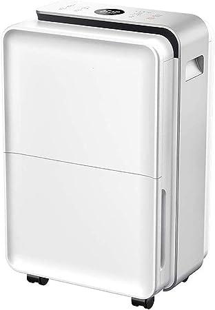 GGRYX Deshumidificador Purificador Aire, 4.5L, Deshumidificador Electrico Pantalla Digital, Deshumidificador Aire Tanque De Agua Extraíble, para Habitaciones como El ...