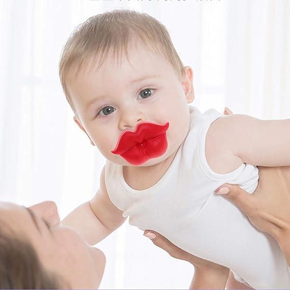 Toyvian Chupete para bebé Lindo labio para la boca Chupete ...