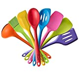 TTLIFE Silicone Spatula Utensil Kitchen 8 Pieces With - Best Reviews Guide