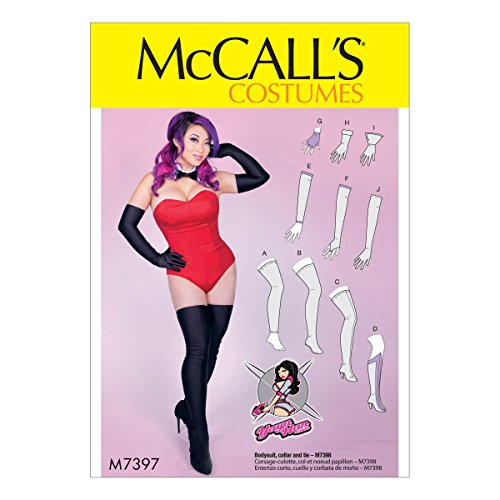 McCall's Patterns M7397OSZ Misses' Gloves, Arm, Leg Warmers, Stockings and Boot Covers Sewing Pattern, One Size Only ()