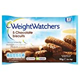 Weight Watchers Chocolate Biscuits - 5 x 18g