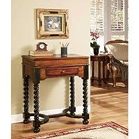 Hooker Furniture Seven Seas Jacobean Twist Leg Flip Top Writing Desk