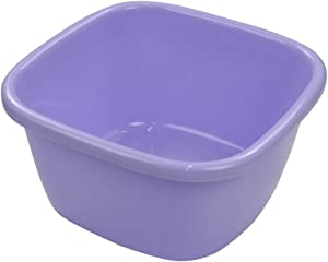 Ramddy Washing Basin / Wash Tub Plastic, 18 Quart, Purple