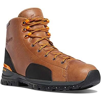 "Danner Men's stronghold 6"" Construction Boot, Brown, 8.5 2E US"