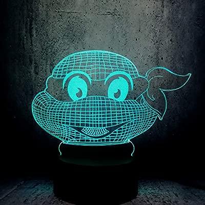 wangZJ 3d led Mutant Ninja Turtles Figura Atmósfera moderna ...