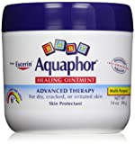 Aquaphor Baby Healing Ointment Diaper Rash and Dry Skin Protectant, 56 Ounces