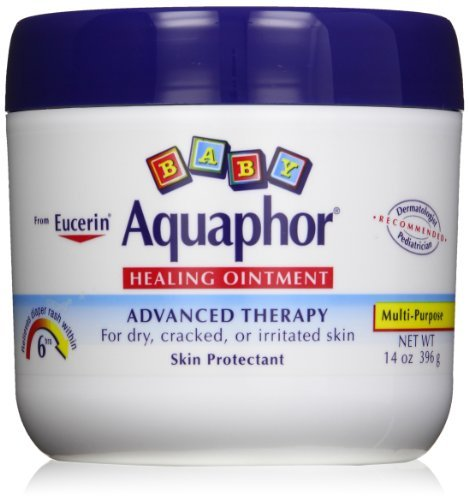 Aquaphor Baby Healing Ointment Diaper Rash and Dry Skin Protectant, 42 Ounces by Aquaphor