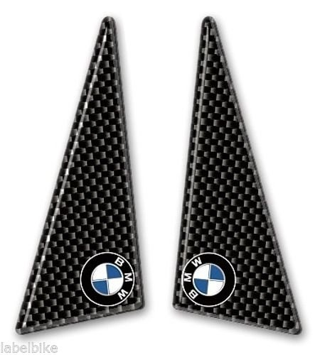 2 Adh/ésifs R/ésine 3d Protection Lat/éral R/éservoir Carbone Moto BMW New