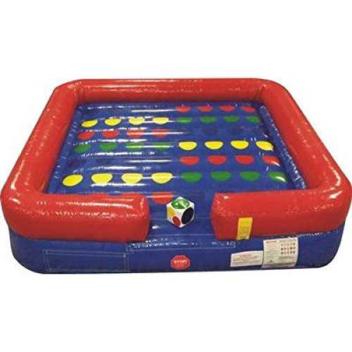 Inflatable Bouncy Interactive Twister Game Includes 1.0 Hp Blower and Free Shipping
