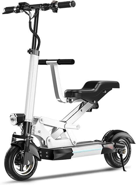 Plegable Bicicleta Eléctrica, Ligero Y Plegable De Aluminio De ...