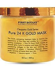 The BEST 24 K Gold Facial Mask 8.8 oz - Gold Mask for...