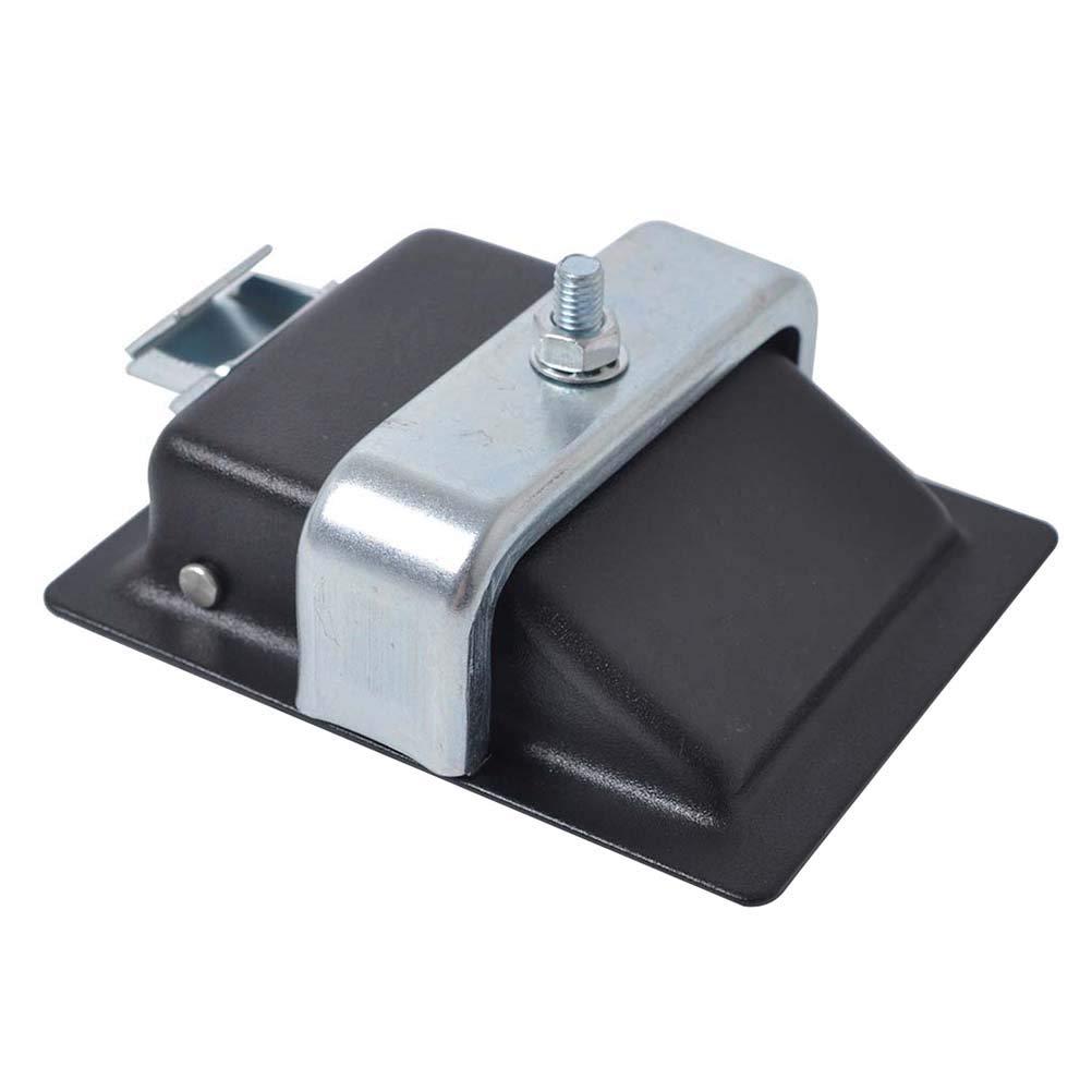 Noir Vosarea 2 PCS Trailer Tool Box Locks Antivols de poign/ée /à Palette de la Caravane Accessoires de caravanes