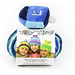 DMC TTY15DR Top This! Yarn, Dreidel, Multicolor