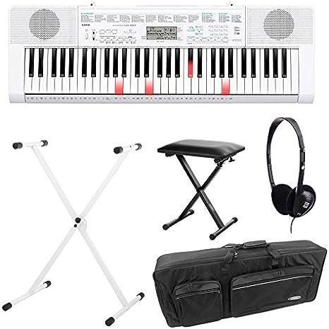 Casio LK 247 Bombilla teclas Keyboard Deluxe Set con ...