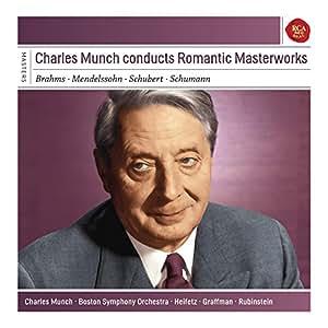 Charles Munch Conducts Romantic Mast Erworks