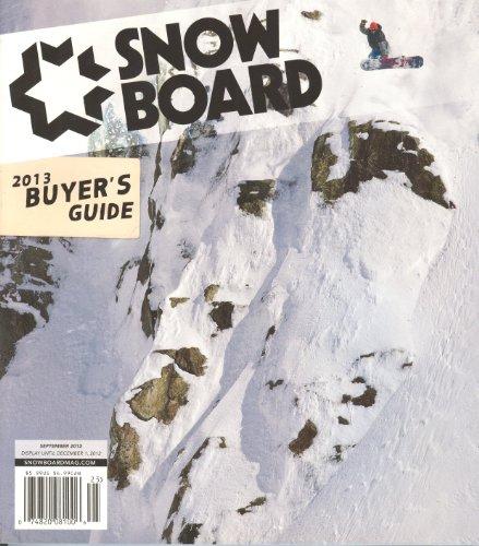 (Snowboard Magazine 2013 Buyer`s Guide (September 2012))