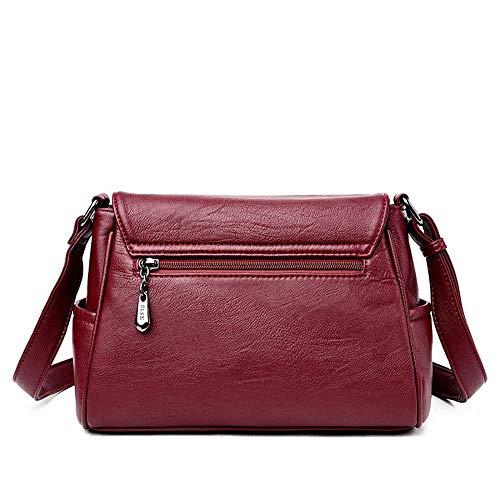 Bolso Bag Mujer Única Negro Hombro Para Kugin Handle Al Talla E5xSq