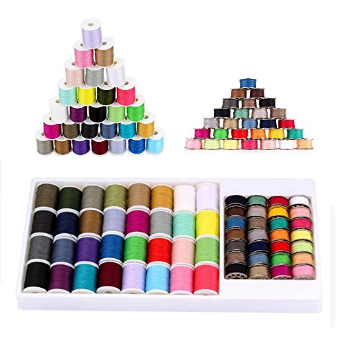 NEX Sewing Thread 60pcs Mixed Colors Sewing Kit For Sewing Machine(SK02)