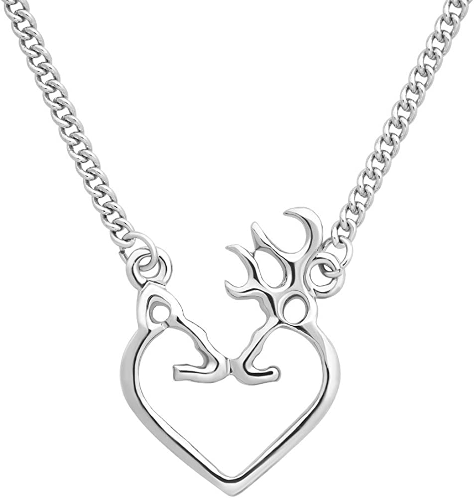 Christmas Reindeer Pendant Chain Necklace Womens Valentine/'s Day Jewellery Gifts