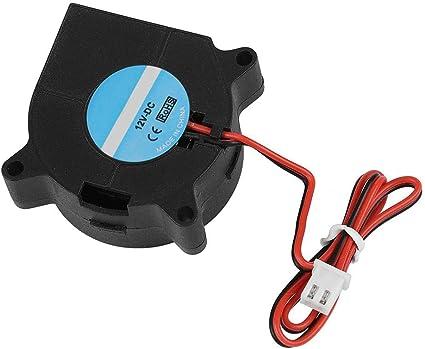 Tonysa 4020 DC 40 * 40 * 20mm 4000 6000rpm Silencieux Turbo Ventilateur de Refroidissement pour Imprimante 3D Matériel: ABS 12V 24V(12v)