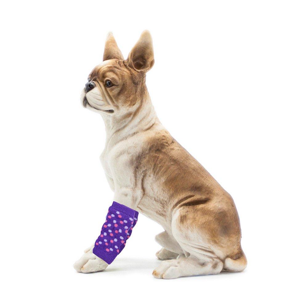 Guardians Dog Leg Warmers Pet Warm Socks Large Legs Protector Wraps, Set of 2