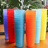 AOYITE Plastic Tumblers Drinking Glasses Set of 12