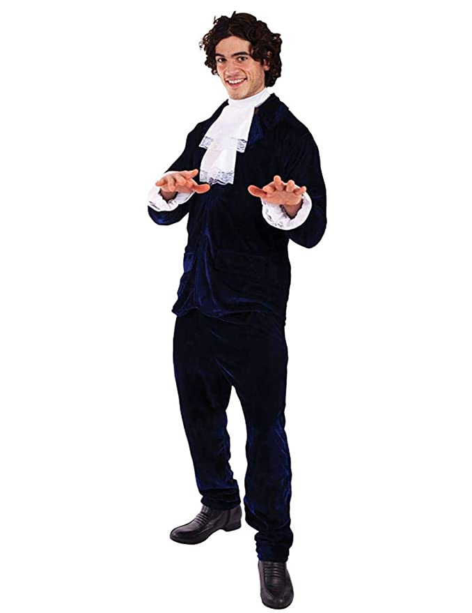 60s -70s  Men's Costumes : Hippie, Disco, Beatles Mens 60s Gigolo Austin Powers Suit 1960s Groovy Fancy Dress Costume Standard £28.75 AT vintagedancer.com