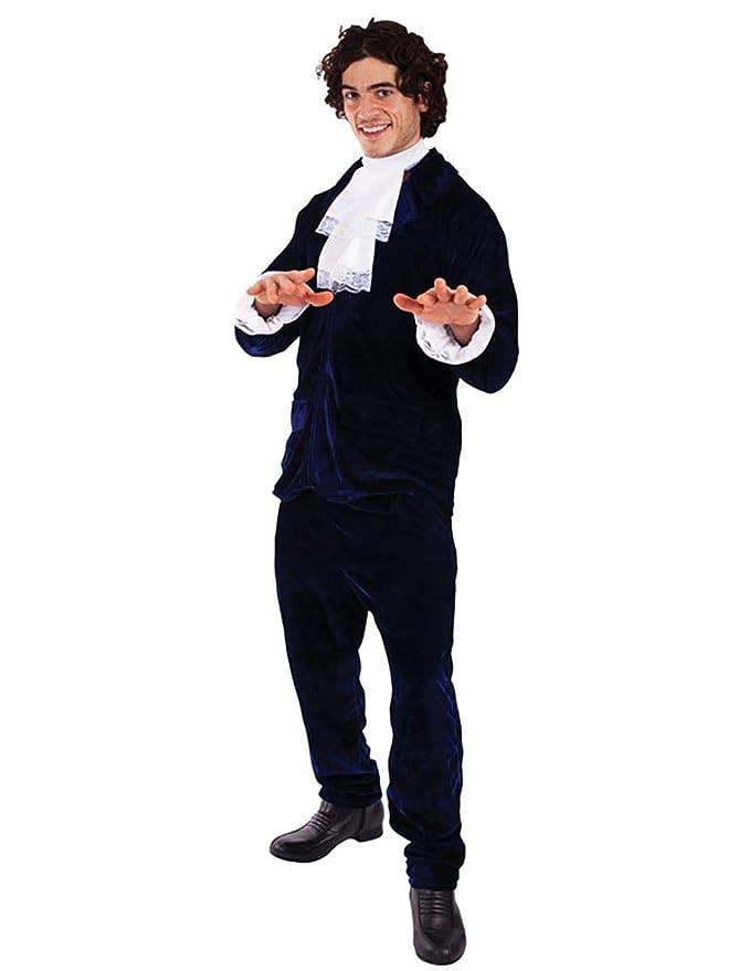 Retro Clothing for Men | Vintage Men's Fashion Mens 60s Gigolo Austin Powers Suit 1960s Groovy Fancy Dress Costume Standard £28.75 AT vintagedancer.com