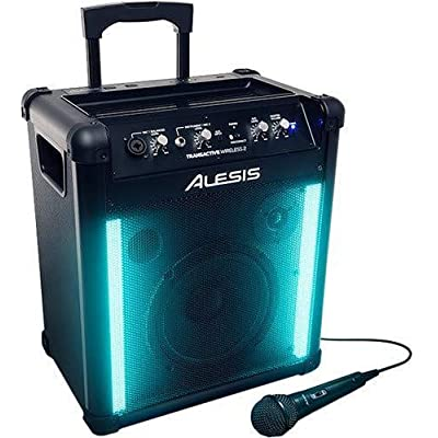 Image of Alesis TransActive Wireless 2 | Portable Rechargeable Bluetooth Speaker with Lights Portable Bluetooth Speakers