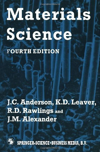 Materials Science by Leaver, Keith D., Leaver, K.D., Anderson, J.C., Rawlings, R. (1990) Paperback