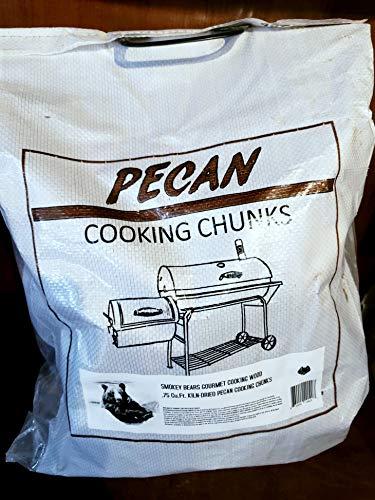 (Smokey Bear's Gourmet Cooking Wood - Pecan Wood Chunks (18-20 Lbs))