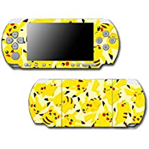 Pikachu Art Pokemon Go Design Pokeball Video Game Vinyl Decal Skin Sticker Cover for Sony PSP Playstation Portable Slim 3000 Series System