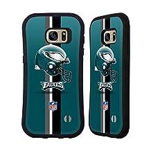 Official NFL Helmet Philadelphia Eagles Logo Hybrid Case for Samsung Galaxy S6 edge+ / Plus