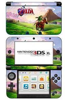 Zelda ocarina of time game skin for nintendo 3ds xl console video games - Ocarina of time 3ds console ...