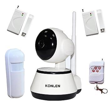 Amazon.com : KONLEN Wifi CCTV Network IP Camera Audio PTZ ...