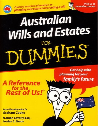 Australian Wills and Estates For Dummies