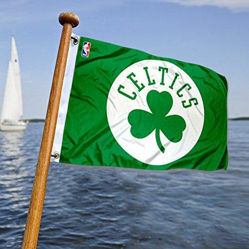 Wincraft Boston Celtics Boat and Golf Cart Flag
