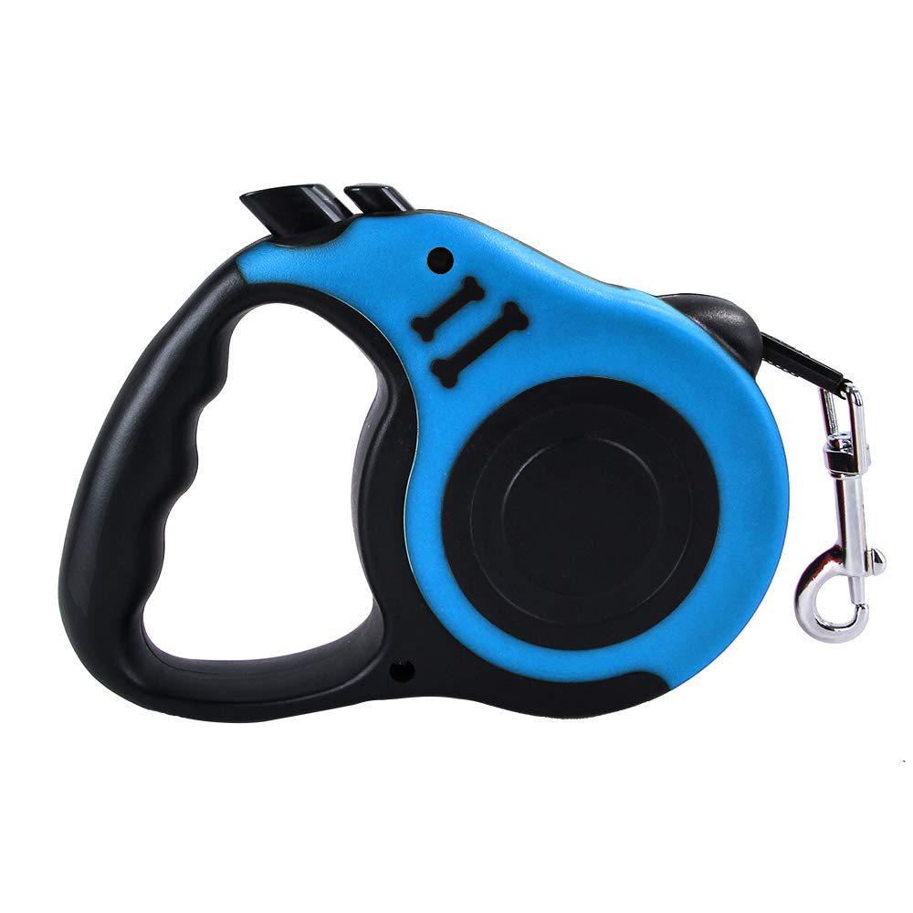 Walmeck 3000MM//5000MM Retractable Dog Leash Automatic Flexible Dog Puppy Cat Traction Rope Pet Products Blue/&3000MM