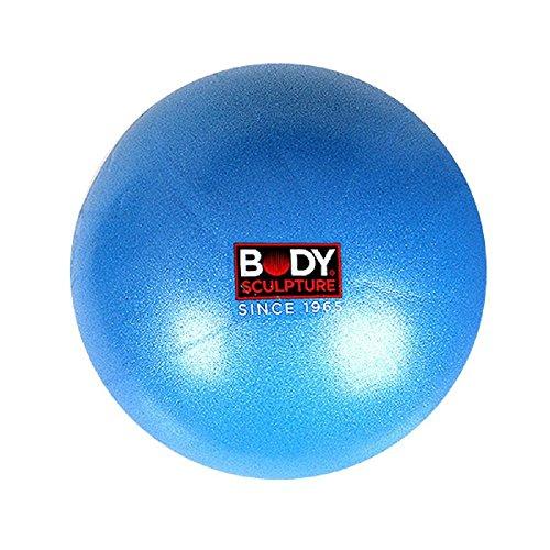 Bodysculpture Mini Gym/25cm/24,9cm (Bleu ciel)–Boule d'exercice pour la rééducation, la formation, le yoga, fitness, étirement