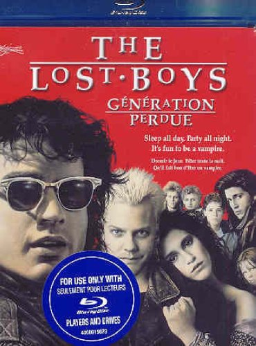 The Lost Boys [Blu-ray] (Bilingual) Warner Bros. Home Video 0000200001883929028054 Comedy