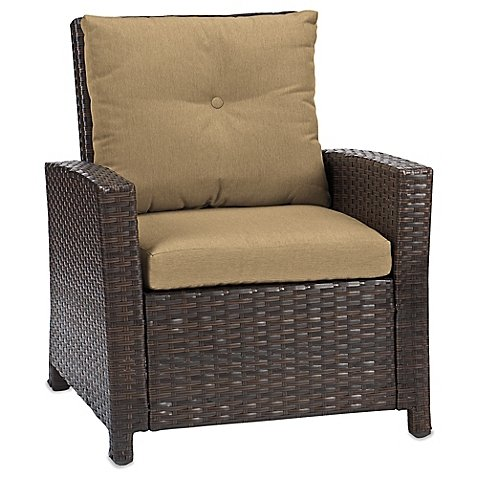 Barrington Wicker Club Chair (Tan) price