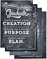 DaySpring Graduation, Chalkboard, 12-Count with Embossed White Envelopes (43371)