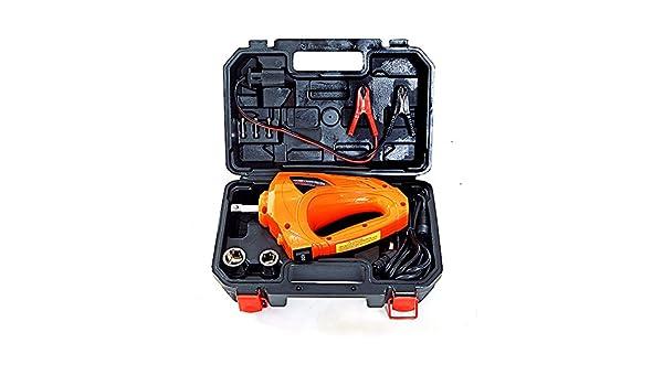 Autool eléctrico Llave de impacto (1/2 pulgadas, 480 N.M 12 V de coche Kit de herramienta de reparación destornillador de impacto llave de impacto eléctrica ...