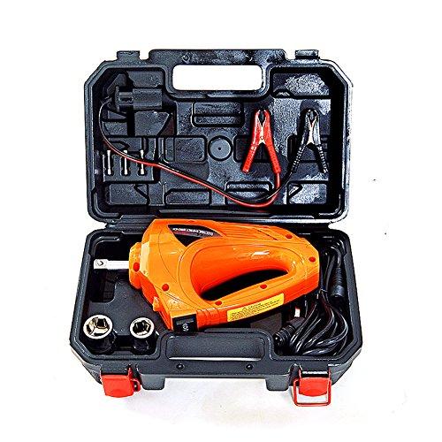 Autool eléctrico llave de impacto 1/5.1cm, 480N.M 12V coche atornillador de impacto de herramientas de reparación Kit...